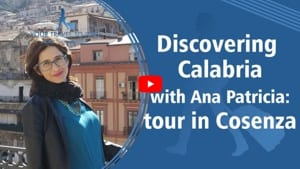 YTTC - widget - youtube video - Discovering Calabria with Ana Patricia - Tour in Cosenza
